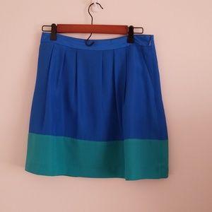 Jcrew Color Block Skirt